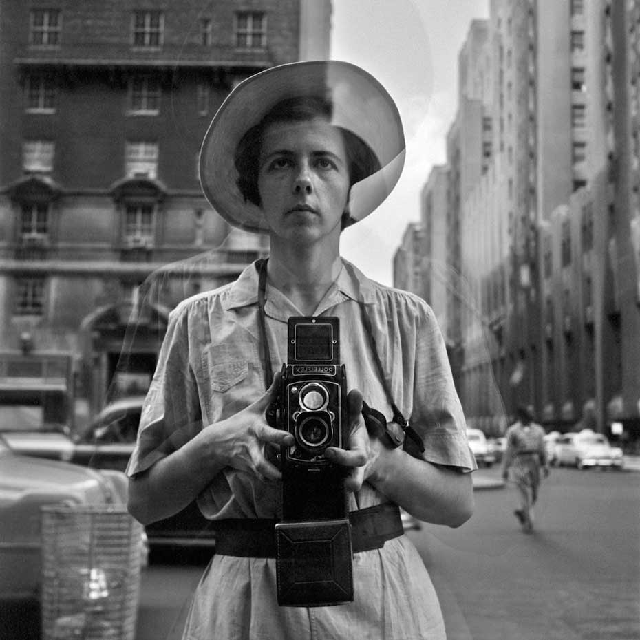 Vivian Maier, Self-Portrait, Undated, 40x50 cm(16x20 inch.) , © Vivian Maier:Maloof Collection, Courtesy Howard Greenberg Gallery, New York